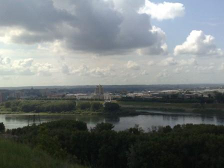 Вид с высоты опять же Кемерова