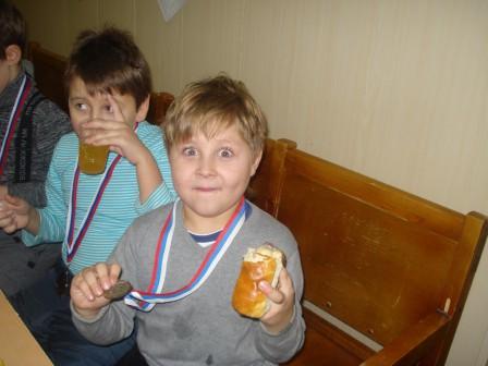 Видали....Первые медали!