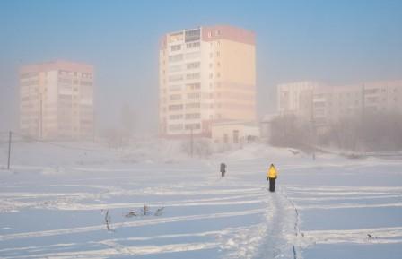 Мороз -39