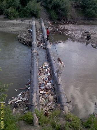 Рыбалка на Ушайке (в Томске)