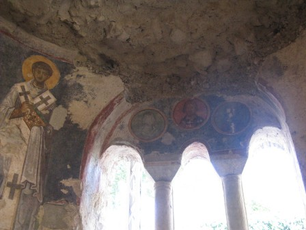 Фрески в церкви св. Николая Турции