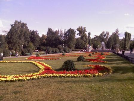 Новособорная площадь в Томске