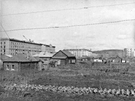 г.Кемерово в 50-60 годы 1
