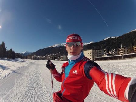 Александр Бессмертных лыжник