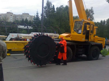 Подготовка к дню Шахтеров 2007 в г. Кемерово