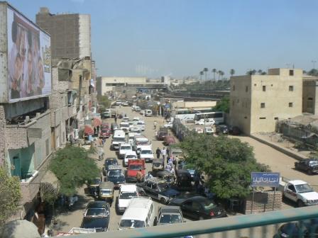 В пригороде Каира