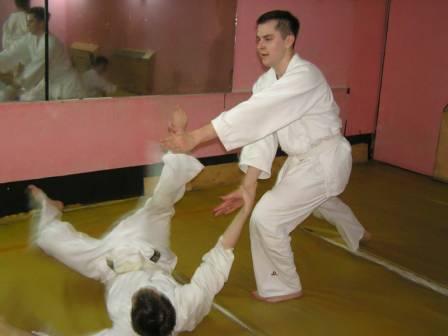 Тренировка по Айкидо