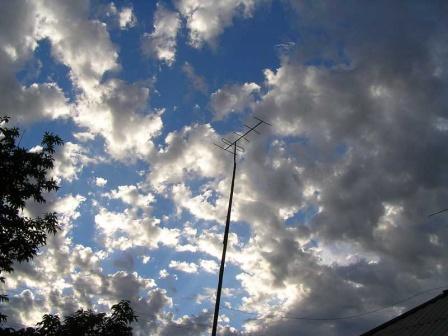 Игра света и облаков