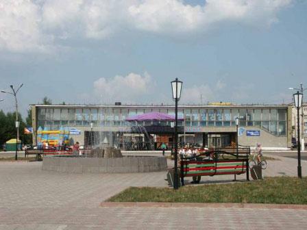 Городская площадь, ДК Шахтостроителей