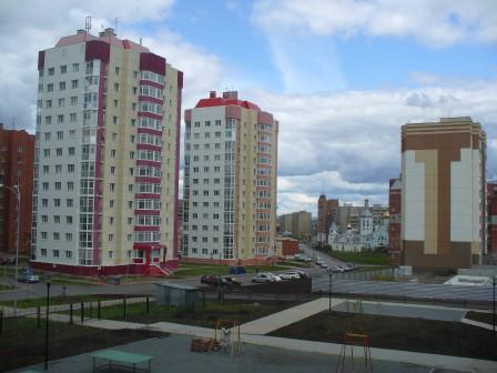 Вид из окна новой школы