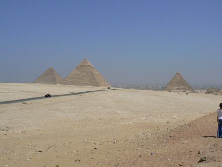 Пирамиды с другого ракурса
