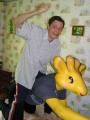 Погонщик жёлтого жирафа